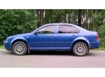 Дефлекторы окон Volkswagen Jetta IV /1999-2005/. Ветровики Фольксваген Джетта [Cobra]