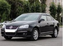 Дефлекторы окон Volkswagen Jetta V /2005-2010/. Ветровики Фольксваген Джетта [Cobra]