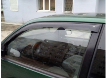 Дефлекторы окон Volkswagen Lupo /3D, 1998-2005/. Ветровики Фольксваген Лупо [Cobra]