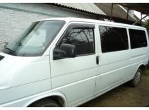 Дефлекторы окон Volkswagen Multivan T4 /1990-2003/. Ветровики Фольксваген Мультиван [Cobra]