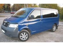 Дефлекторы окон Volkswagen Multivan T5 /2003-2015/. Ветровики Фольксваген Мультиван [Cobra]