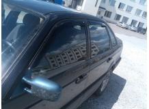 Дефлекторы окон Volkswagen Passat B3 /Седан, 1988-1993/. Ветровики Фольксваген Пассат [Cobra]