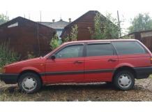 Дефлекторы окон Volkswagen Passat B3 /Универсал, 1988-1993/. Ветровики Фольксваген Пассат [Cobra]