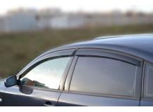 Дефлекторы окон Volkswagen Passat B5 /Седан, 1996-2005/. Ветровики Фольксваген Пассат [Cobra]