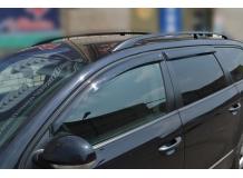 Дефлекторы окон Volkswagen Passat B6 /Универсал, 2005-2010/. Ветровики Фольксваген Пассат [Cobra]