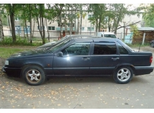 Дефлекторы окон Volvo 850 /Седан, 1991-1997/. Ветровики Вольво 850 [Cobra]