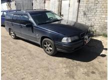 Дефлекторы окон Volvo V70 I /1996-2000/. Ветровики Вольво В70 [Cobra]
