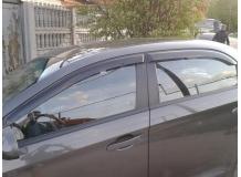 Дефлекторы окон ZAZ Forza /Седан, 2011+/. Ветровики ЗАЗ Форза [Cobra]