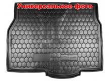 Коврик в багажник Audi Q3 /2011+/. Резиновый коврик багажника Ауди Q3 [Avto-Gumm]