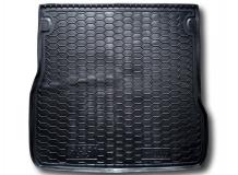 Коврик в багажник Audi A6 (C5) /1997-2004, Универсал/. Резиновый коврик багажника Ауди А6 [Avto-Gumm]