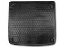 Коврик в багажник Audi A6 (C7) /2011+, Универсал/. Резиновый коврик багажника Ауди А6 [Avto-Gumm]
