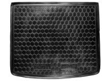 Коврик в багажник Chevrolet Cruze I /2008-2016, Хэтчбек/. Резиновый коврик багажника Шевроле Круз [Avto-Gumm]