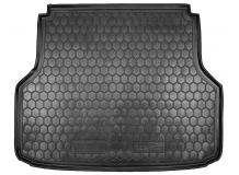 Коврик в багажник Chevrolet Lacetti /2003+, Универсал/. Резиновый коврик багажника Шевроле Лачетти [Avto-Gumm]