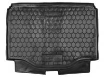 Коврик в багажник Chevrolet Tracker III /2012+/. Резиновый коврик багажника Шевроле Трекер [Avto-Gumm]