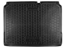 Коврик в багажник Citroen C4 II /5D, 2010+/. Резиновый коврик багажника Ситроен С4 [Avto-Gumm]