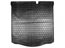 Коврик в багажник Citroen C-Elysee II /2013+/. Резиновый коврик багажника Ситроен Си-Элизе [Avto-Gumm]