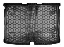 Коврик в багажник Citroen Nemo /2007+/. Резиновый коврик багажника Ситроен Немо [Avto-Gumm]