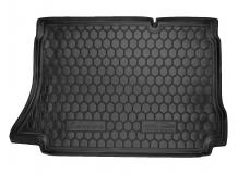 Коврик в багажник Daewoo Lanos /Хэтчбек, 1997+/. Резиновый коврик багажника Деу Ланос [Avto-Gumm]