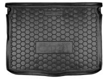 Коврик в багажник Fiat 500X /2014+/. Резиновый коврик багажника Фиат 500Х [Avto-Gumm]