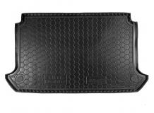 Коврик в багажник Fiat Doblo I /5м, SWB, с сеткой, 2000+/. Резиновый коврик багажника Фиат Добло [Avto-Gumm]
