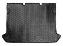 Коврик в багажник Fiat Doblo I /5м, SWB, без сетки, 2000+/. Резиновый коврик багажника Фиат Добло [Avto-Gumm]