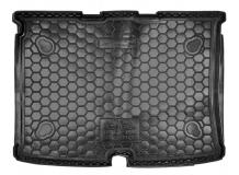 Коврик в багажник Fiat Fiorino III /2008+/. Резиновый коврик багажника Фиат Фиорино [Avto-Gumm]