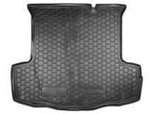 Коврик в багажник Fiat Linea /2007-2015/. Резиновый коврик багажника Фиат Линеа [Avto-Gumm]