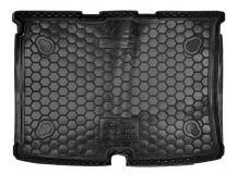 Коврик в багажник Fiat Qubo /2008+/. Резиновый коврик багажника Фиат Кубо [Avto-Gumm]