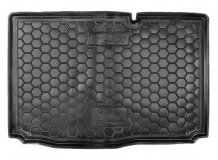 Коврик в багажник Ford B-Max /нижняя полка, 2012+/. Резиновый коврик багажника Форд Би-Макс [Avto-Gumm]