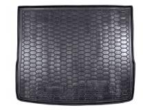 Коврик в багажник Ford Focus II /2004-2011, Универсал/. Резиновый коврик багажника Форд Фокус [Avto-Gumm]