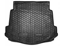 Коврик в багажник Ford Mondeo IV /Седан, с докаткой, 2007-2014/. Резиновый коврик багажника Форд Мондео [Avto-Gumm]