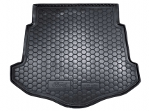 Коврик в багажник Ford Mondeo IV /Хэтчбек, с докаткой, 2007-2014/. Резиновый коврик багажника Форд Мондео [Avto-Gumm]
