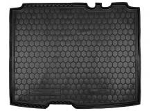 Коврик в багажник Ford Tourneo Connect II /SWB, 2013+/. Резиновый коврик багажника Форд Торнео Коннект [Avto-Gumm]