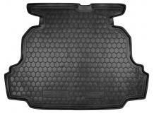 Коврик в багажник Geely Emgrand 7 (EC7) /Седан, 2009+/. Резиновый коврик багажника Джили Эмгранд 7 [Avto-Gumm]