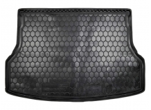 Коврик в багажник Geely Emgrand X7 /2013+/. Резиновый коврик багажника Джили Эмгранд Х7 [Avto-Gumm]