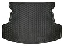 Коврик в багажник Geely GC5 /Седан, 2014+/. Резиновый коврик багажника Джили ЖЦ5 [Avto-Gumm]