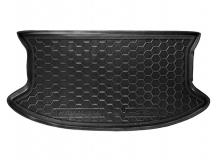 Коврик в багажник Great Wall Haval M4 /2012+/. Резиновый коврик багажника Грейт Вол Хавал М4 [Avto-Gumm]