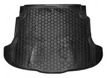 Коврик в багажник Honda CR-V III /2007-2012/. Резиновый коврик багажника Хонда ЦР-В [Avto-Gumm]