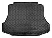 Коврик в багажник Honda Civic VIII /2006-2011, Седан/. Резиновый коврик багажника Хонда Цивик [Avto-Gumm]
