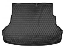 Коврик в багажник Hyundai Accent IV (Solaris) /2011-2017, Седан/. Резиновый коврик багажника Хюндай Акцент [Avto-Gumm]