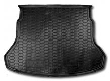 Коврик в багажник Hyundai Accent V /2017+/. Резиновый коврик багажника Хюндай Акцент [Avto-Gumm]