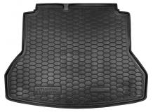 Коврик в багажник Hyundai Elantra AD /2016+/. Резиновый коврик багажника Хюндай Элантра [Avto-Gumm]