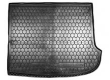 Коврик в багажник Hyundai Grand SantaFe II /7м, 2006-2010/. Резиновый коврик багажника Хюндай СантаФе [Avto-Gumm]
