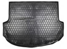 Коврик в багажник Hyundai SantaFe III /SWB, 2012+/. Резиновый коврик багажника Хюндай СантаФе [Avto-Gumm]