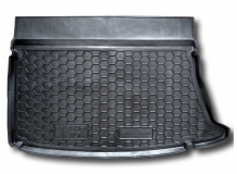 Коврик в багажник Hyundai i30 I /2007-2012, Хэтчбек/. Резиновый коврик багажника Хюндай i30 [Avto-Gumm]