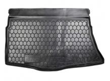 Коврик в багажник Hyundai i30 II /2012-2016, Хэтчбек/. Резиновый коврик багажника Хюндай i30 [Avto-Gumm]