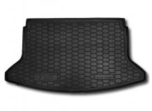 Коврик в багажник Hyundai i30 III /2017+,/. Резиновый коврик багажника Хюндай i30 [Avto-Gumm]