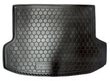Коврик в багажник Hyundai ix35 /2010+/. Резиновый коврик багажника Хюндай ix35 [Avto-Gumm]