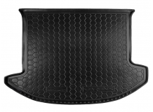 Коврик в багажник Kia Carens III /2006-2013/. Резиновый коврик багажника Киа Каренс [Avto-Gumm]