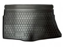 Коврик в багажник Kia Ceed II /2012+, Хэтчбек/. Резиновый коврик багажника Киа Сиид [Avto-Gumm]